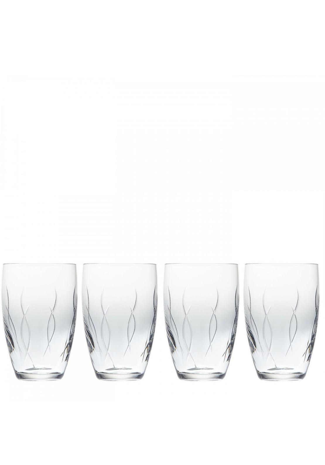 John Rocha at Waterford Weft Tumbler Glasses, Set of 4
