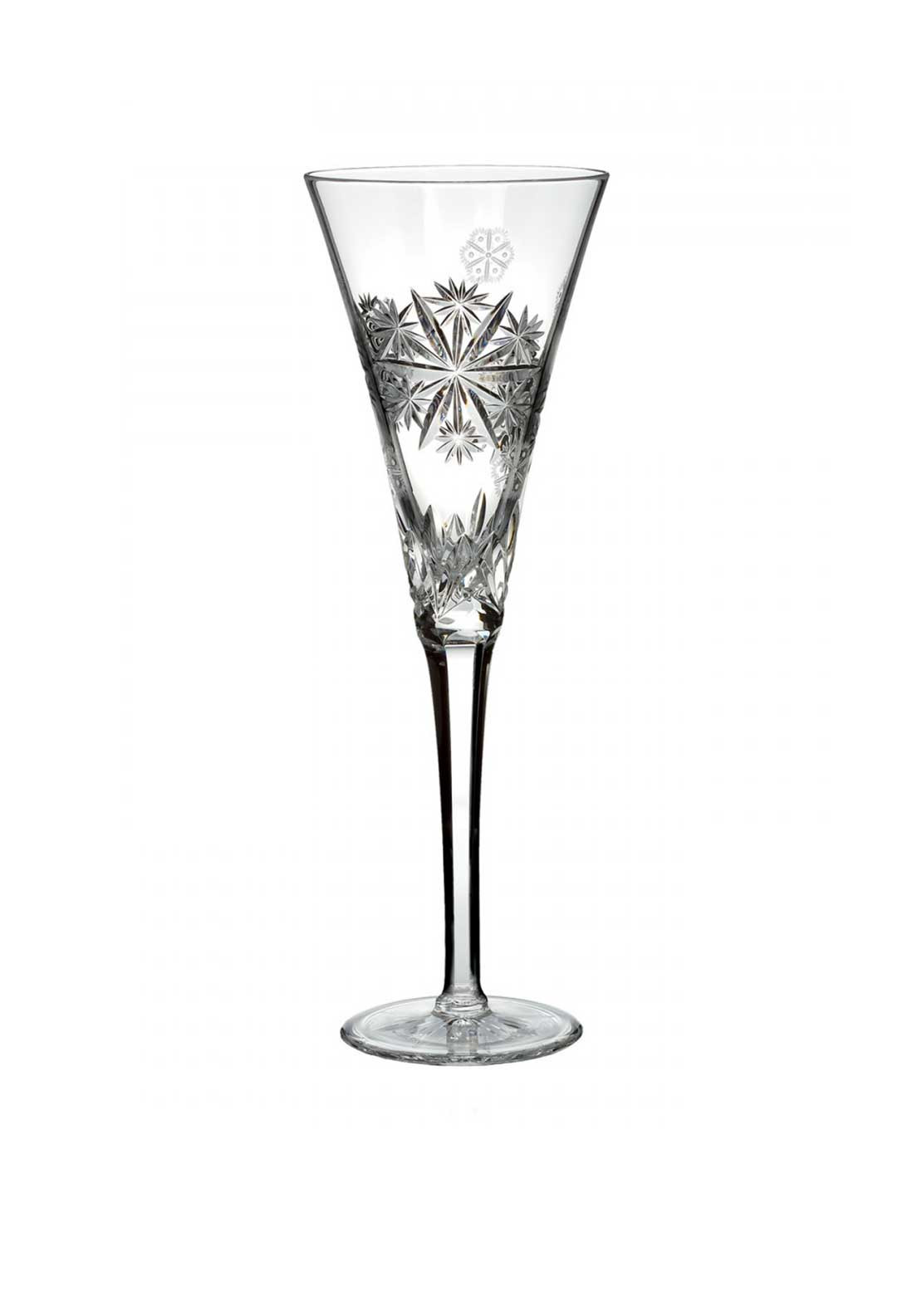 Waterford Crystal Snowflake Wishes Serenity Flute