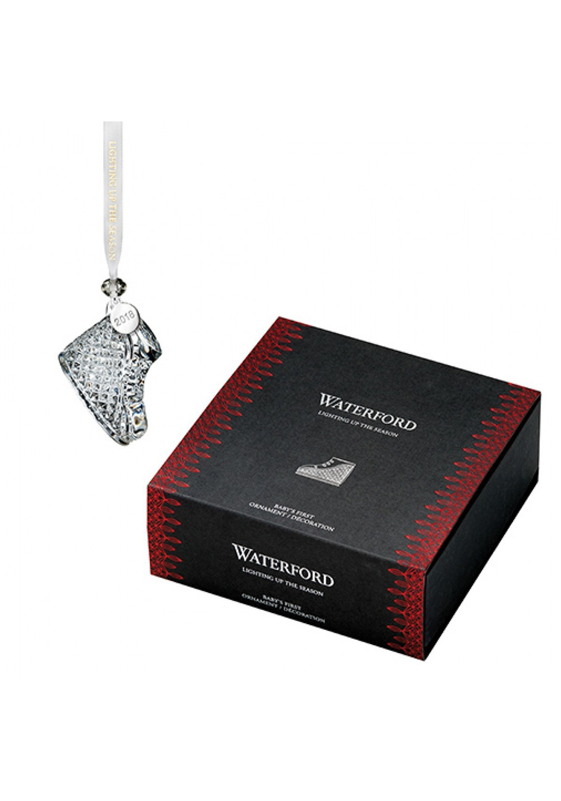 Waterford Crystal Christmas Ornaments.Waterford Crystal Baby S First Christmas Ornament