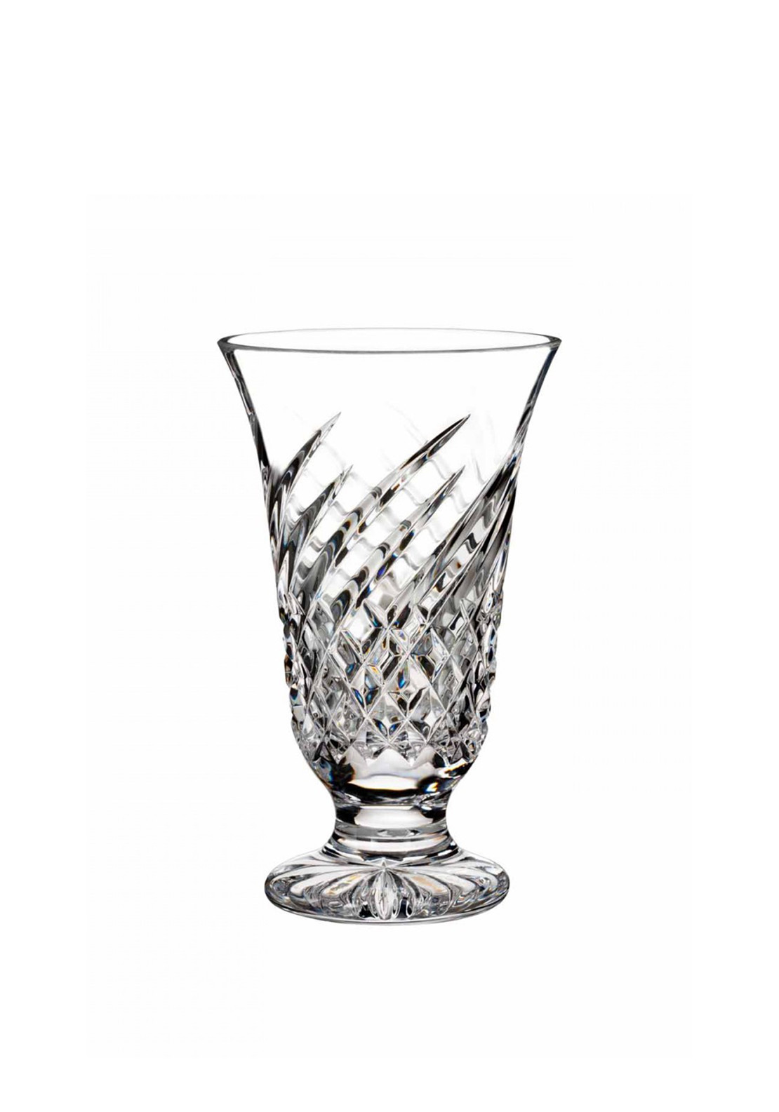 Waterford Crystal Wave Vase