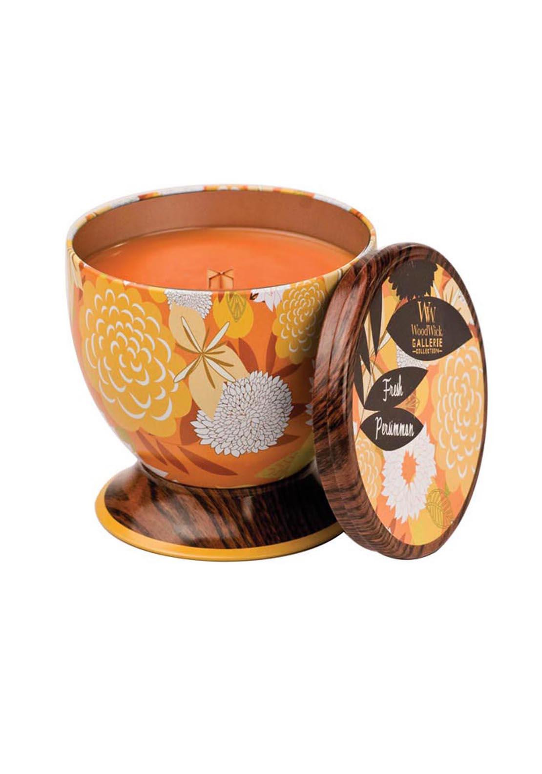 Woodwick Gallerie Collection, Scented Candle, Fresh Persimmon