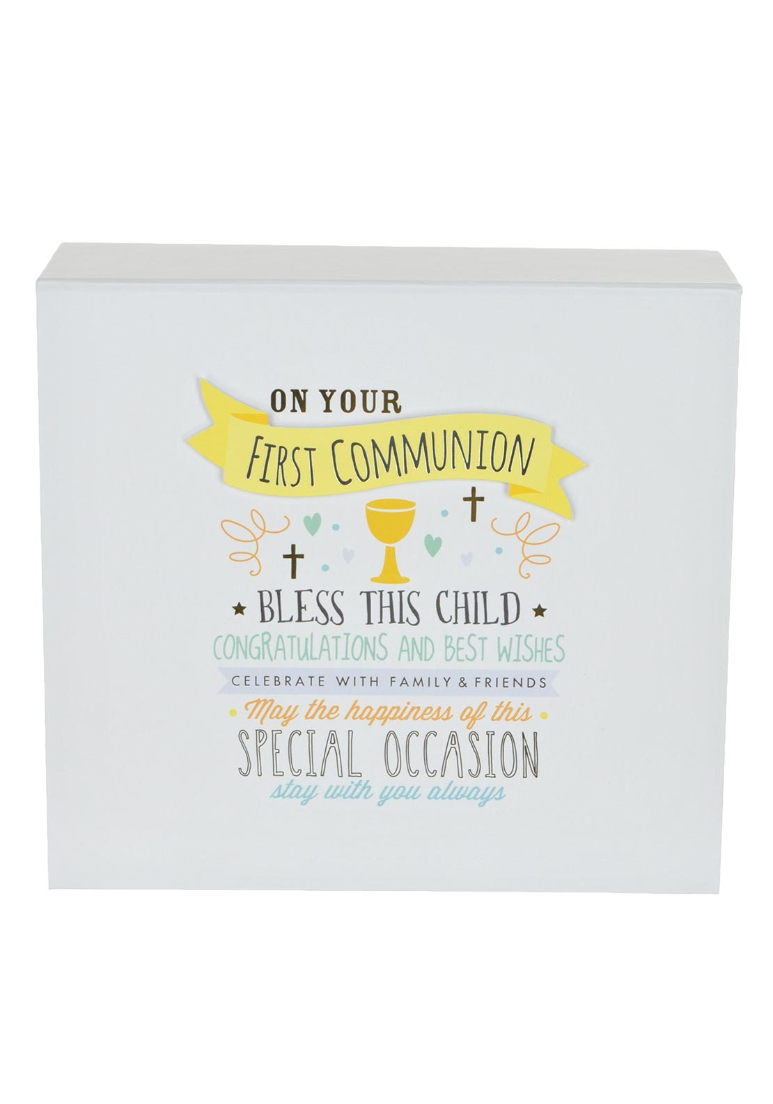 Widdop & Bingham On Your First Communion Keepsake Box