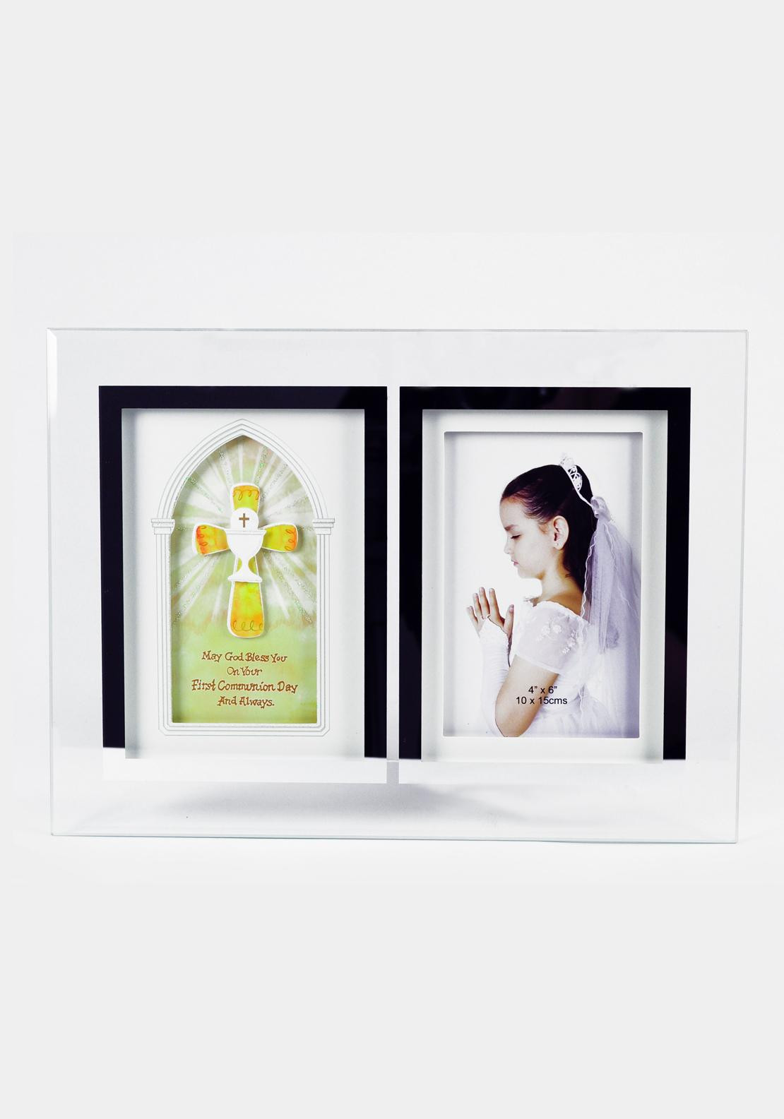 First Holy Communion Photo Frame, Glass