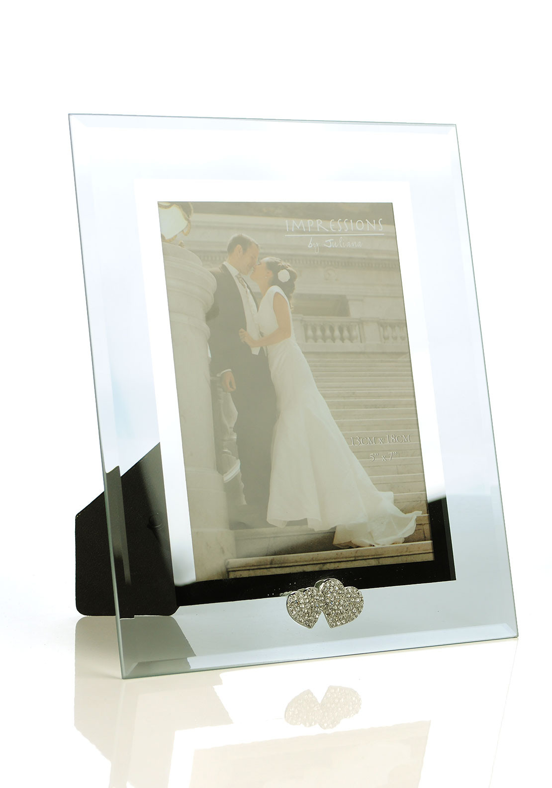 Impressions by Juliana Glass Photo Frame, 5 x 7 inches