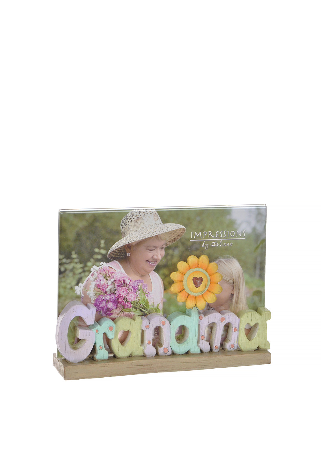 "Impressions by Juliana Grandma Lettering Photo Frame, 6"" x 4"""