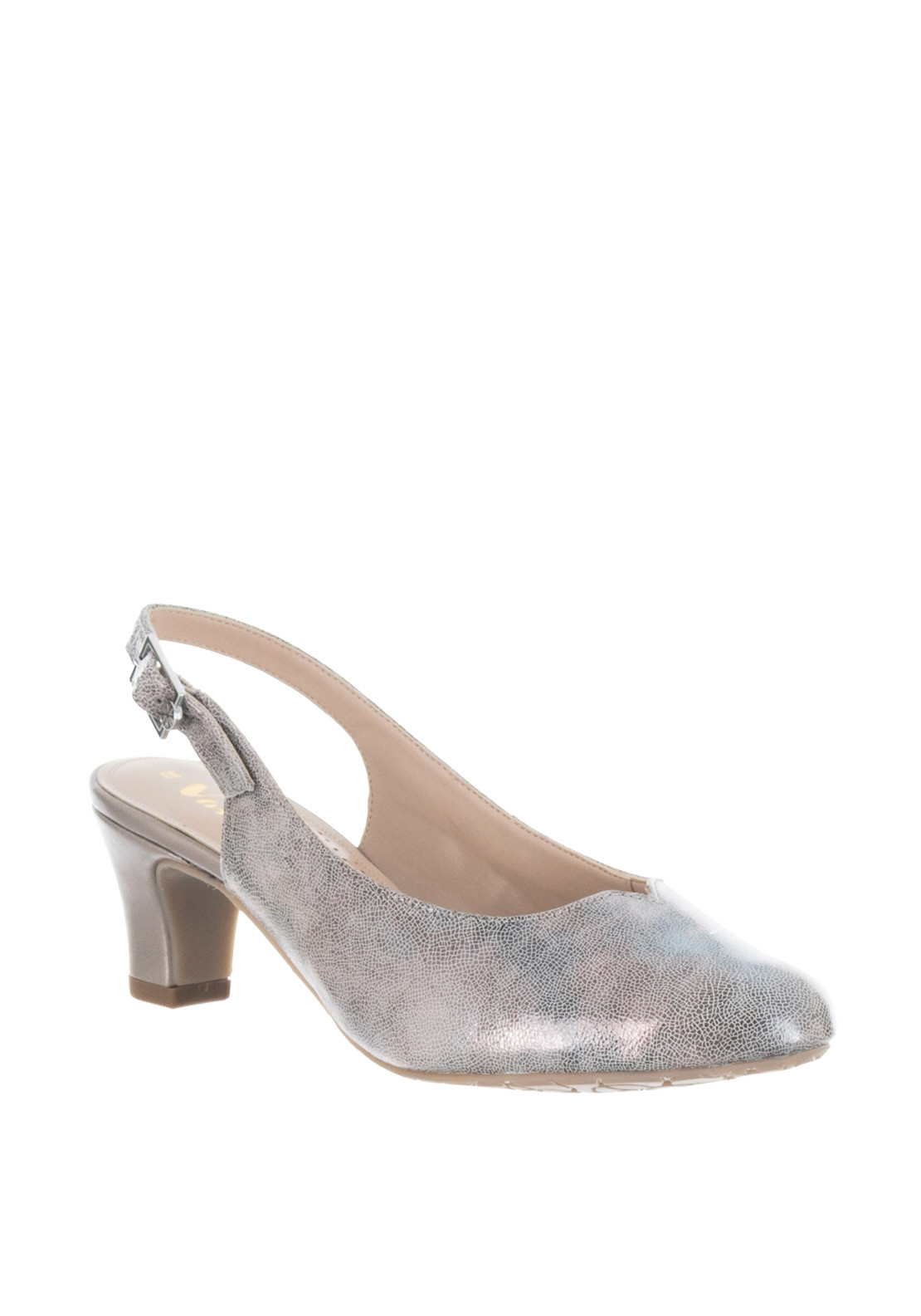 0e094ed98e Van Dal Winton Leather EE Fit Heeled Shoes, Grey. Be the first to review  this product