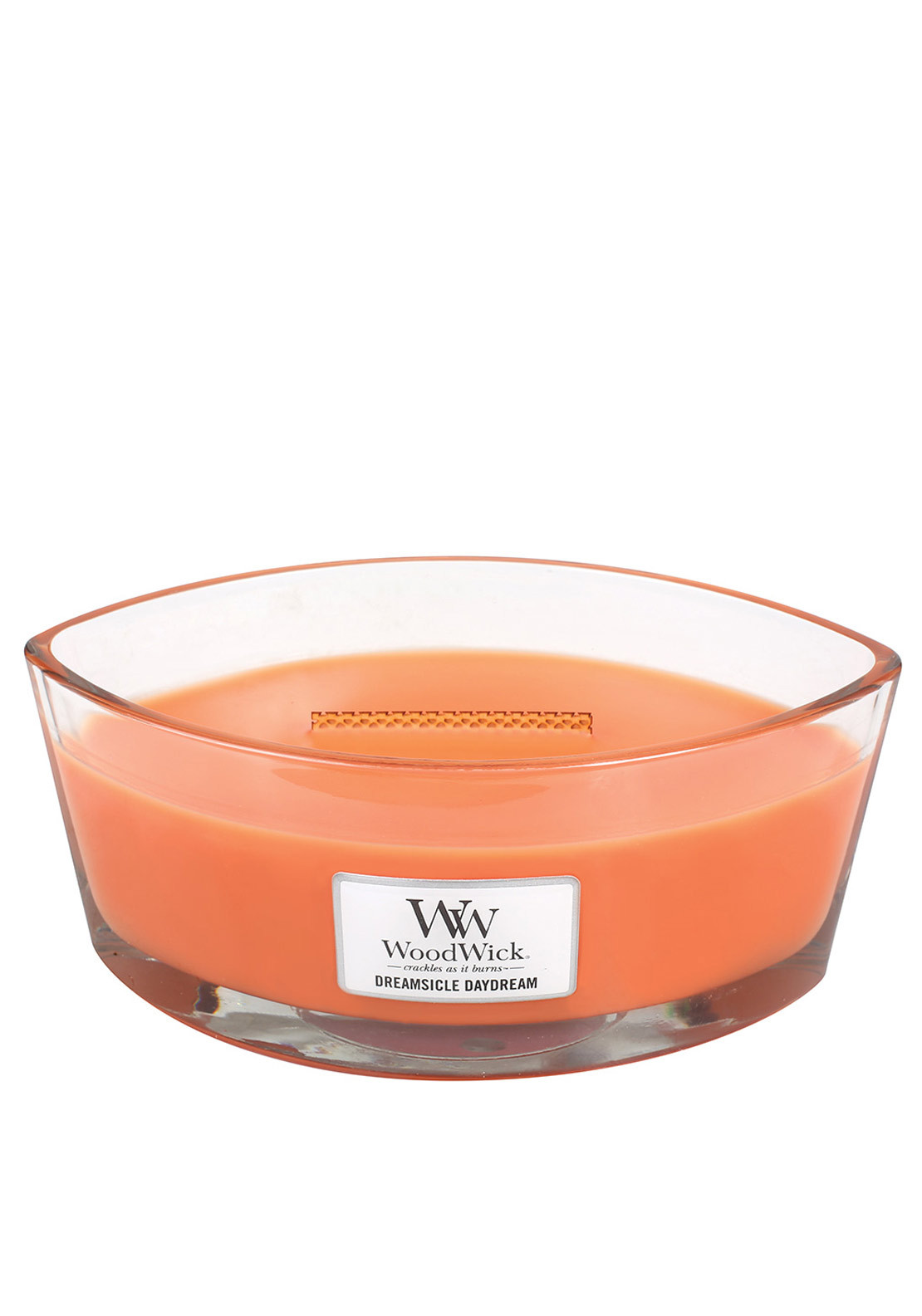 WoodWick Hearthwick Flame Large Candle, Dreamsicle Daydream