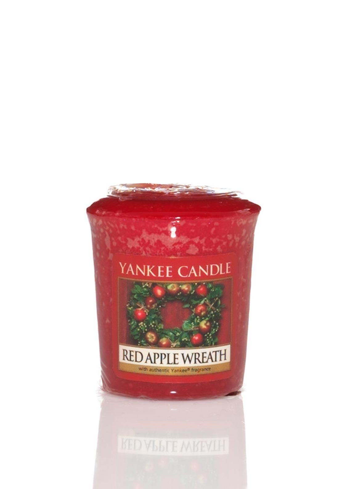 Yankee Candle Sampler Votive Candle, Red Apple Wreath