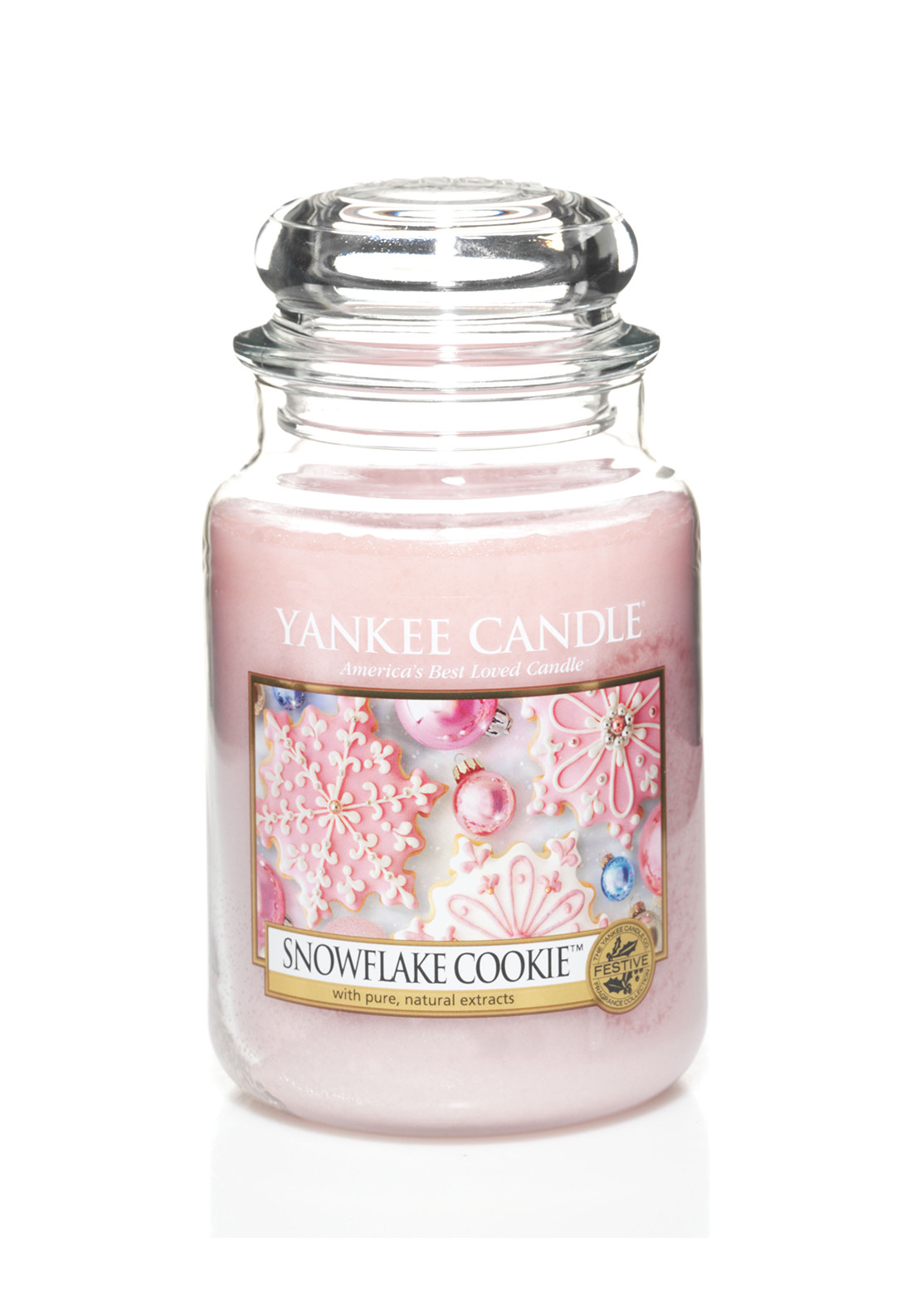Yankee Candle Christmas, Snowflake Cookie Large Jar