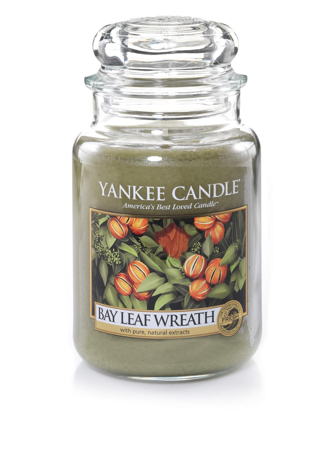 Yankee Candle Large Classic Jar, Bay Leaf Wreath