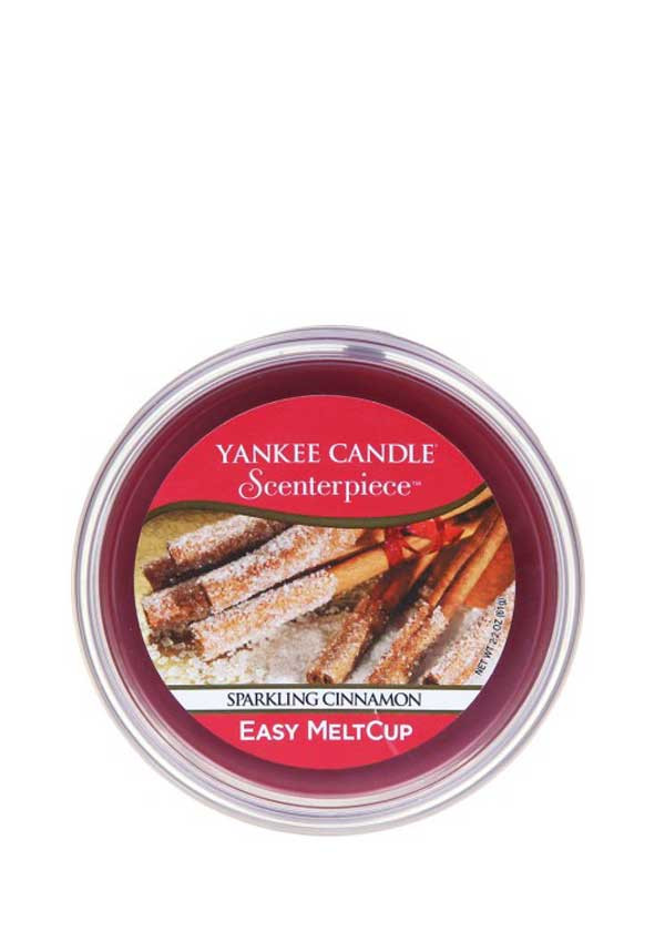 Yankee Candle Scenterpiece Easy MeltCup, Sparkling Cinnamon