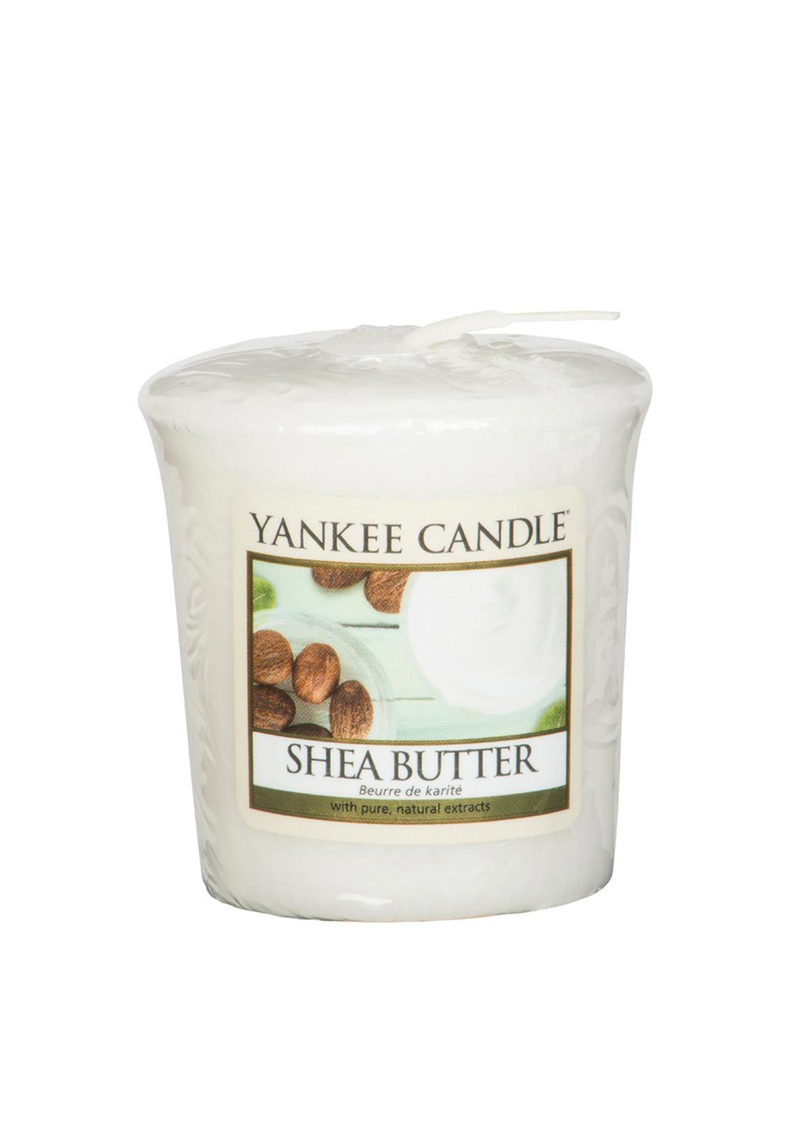 Yankee Candle Sample Votive Candle, Shea Butter