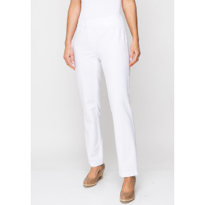 Robell Jacklyn Slim Fit Trousers, White