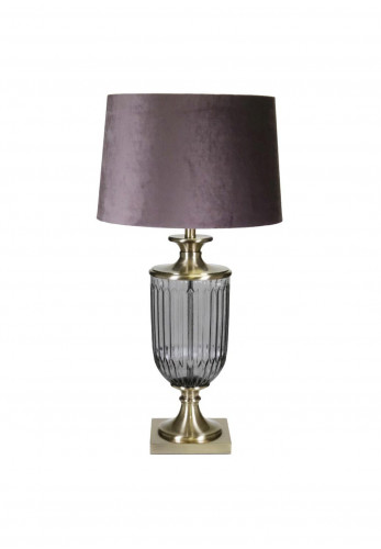 WJ Sampson Rimini Brass Table Lamp