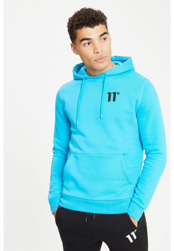 11 Degrees Core Pull Over Hoodie, Scuba Blue