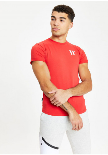 11 Degrees Muscle Fit T-Shirt, True Red