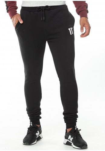 11 Degrees Core Skinny Fit Joggers, Black