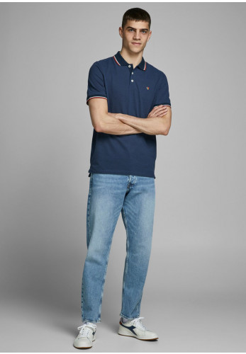 Jack & Jones Bluwin Polo Shirt, Navy Blazer