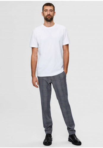 Selected Homme Compacted Organic T-Shirt, White