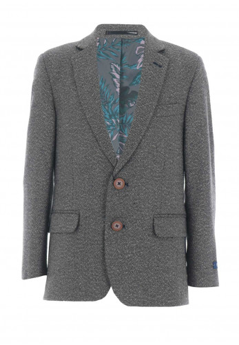 1880 Club Tweed Blazer, Grey