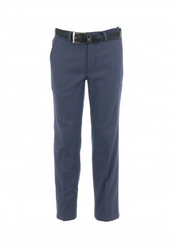 1880 Club Boys Woven Belted Trousers, Navy