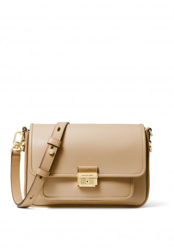 MICHAEL Michael Kors Bradshaw Medium Shoulder Messenger Bag, Camel