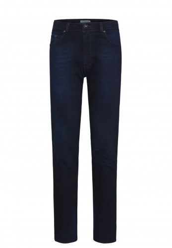 Bugatti Regular Fit Stretch Jeans, Navy Blue