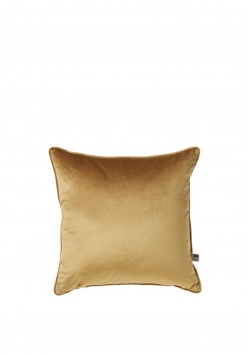 ScatterBox Bellini Velour Cushion, Gold