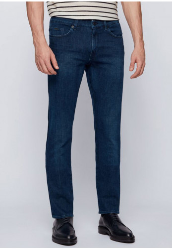 Hugo Boss Cashmere Touch Slim Jeans, Dark Blue