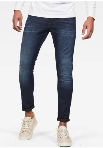 G Star Raw Mens Revend Skinny Jeans, Dark Aged