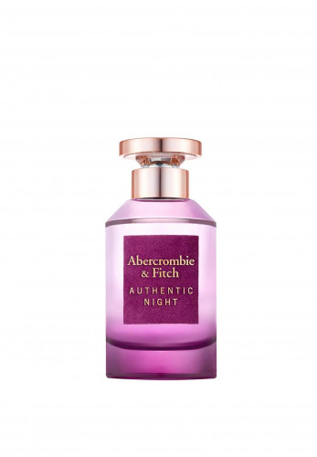 Abercrombie & Fitch Authentic Night Woman EDP, 100ml