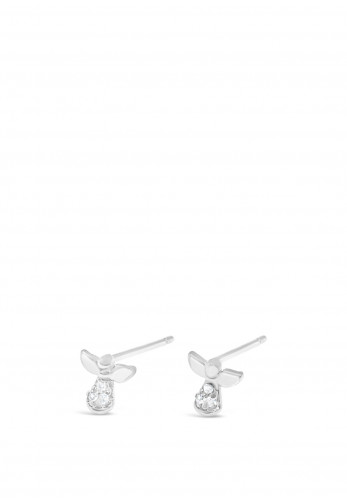 Absolute Holy Communion Silver Angel Earrings, HCE403