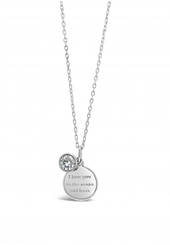 Absolute Holy Communion I Love You To The Moon And Back Necklace, HCP229
