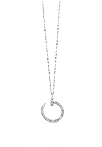Absolute Sterling Silver Pendant, SP143SL