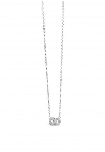 Absolute Sterling Silver Linking Rings Pendant, SP154SL