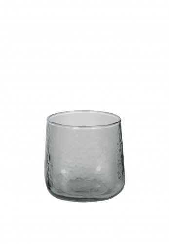 A by Amara Hammered Glass Tumbler