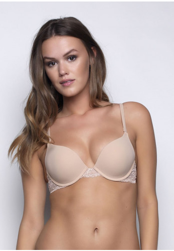 After Eden Two Way Boost Lace Bra, Nude