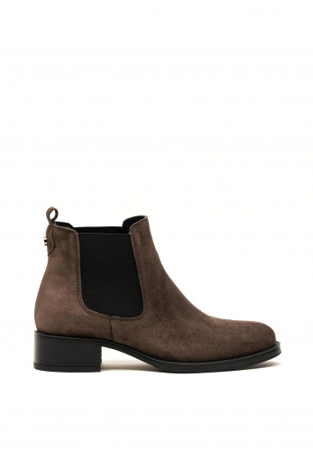 Alpe Suede Chelsea Boots, Grey