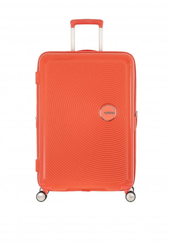 American Tourister Soundbox Spinner Suitcase 77cm, Spicy Peach