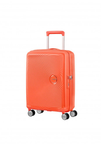 American Tourister Soundbox Suitcase Cabin Size 40cm, Spicy Peach
