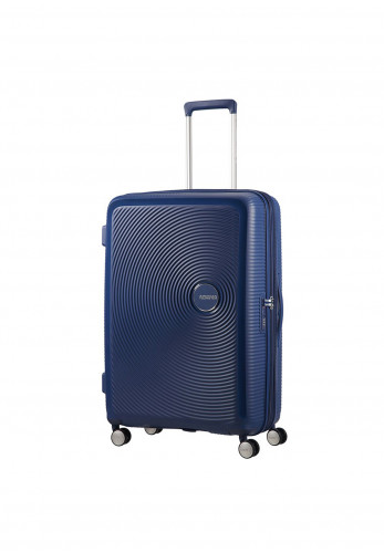 American Tourister Soundbox Spinner Cabin Case 40cm, Midnight Navy