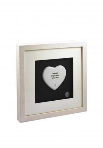 Amilie Designs Live Well Wall Plaque