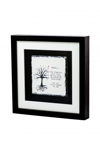 Slate craft by Amilie Designs Family Tree