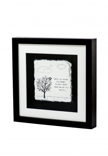 Slate craft by Amilie Designs Spread Your Wings