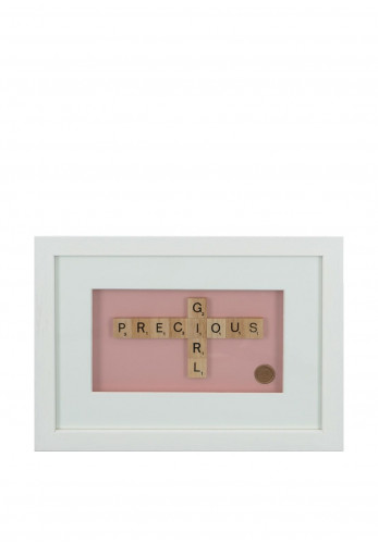 Amilie Designs Precious Girl Wall Plaque