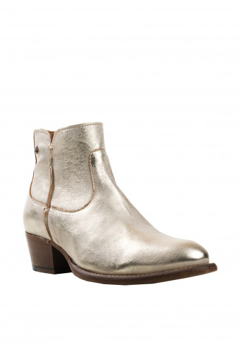 Amy Huberman Heres Mr Jordon Boots, Gold Metallic