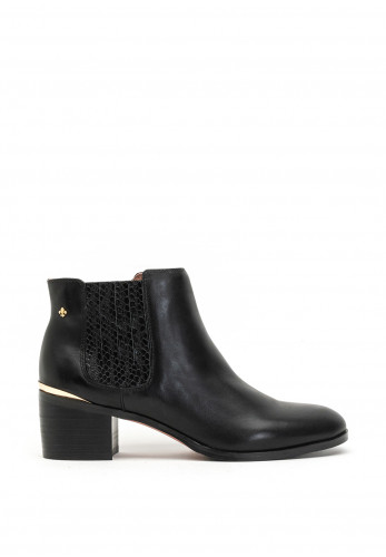 Amy Huberman Love Simon Block Heel Chelsea Boots, Black