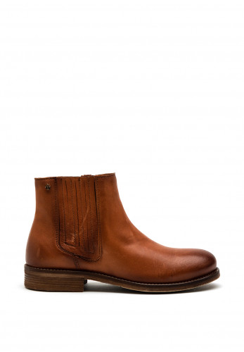 Amy Huberman As Good As It Gets Leather Chelsea Boot, Tan