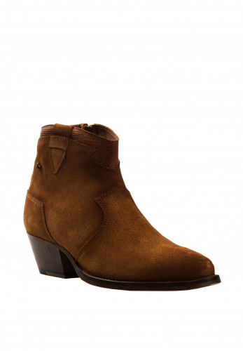 Amy Huberman The More The Merrier Western Boots, Deep Tan