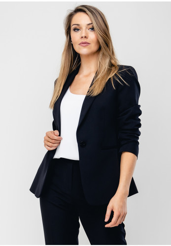 Ana Sousa Tailored Blazer Jacket, Black